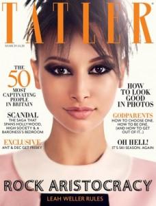 Обложка журнала Tatler