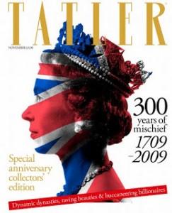 Специальный выпуск к 300-летию Tatler