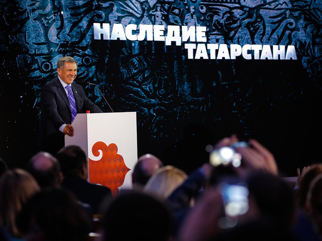 """Презентация проекта """"Наследие Татарстана"""""""