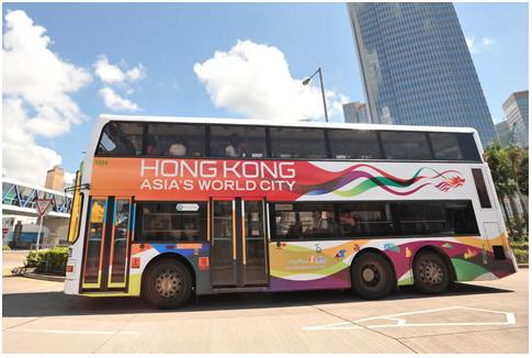 Визуализация бренда Гонконга