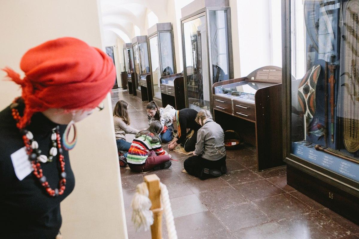 Музей антропологии и этнографии им. Петра Великого (Кунсткамера) Ролевая игра «Нганга. Те, кто знают»