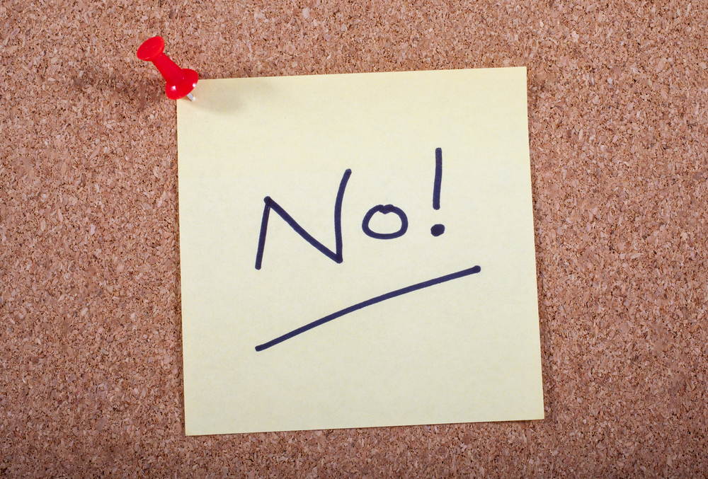 No! Message pinned to a Noticeboard.