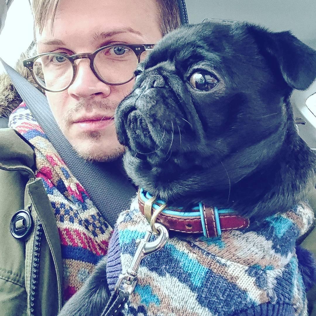 Янис и собака