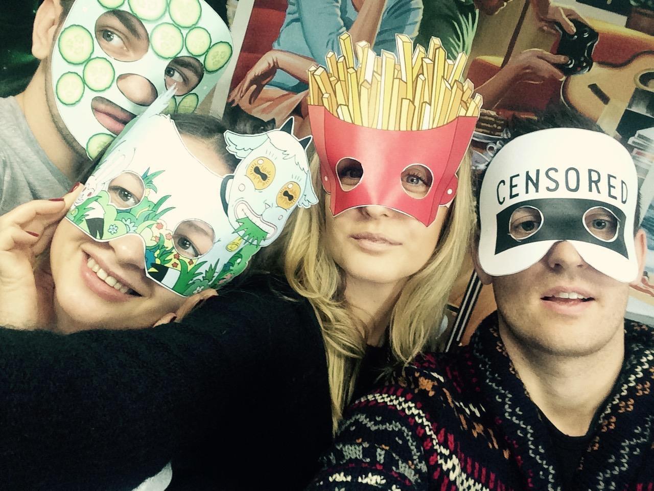 Команда пиара «М.Видео» готовится встречать 2015 год